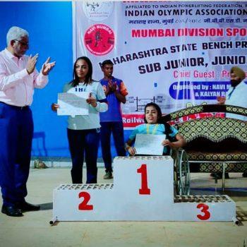 Our Champ Ms. Khushi Ganatra Winning Laurels!