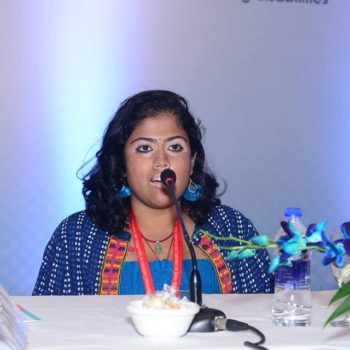 This young lady who is chef, writer, artist and wonderful soul shared her vision in the 28th international conference on Spina Bifida and Hydrocephalus