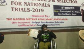 Our Champ Ms. Khushi Ganatra Winning Laurels!1